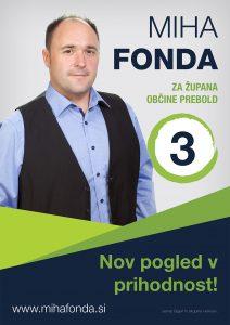 Fonda plakat B1 srednja 212x300 - LOKALNE VOLITVE: Kandidat za župana občine Prebold MIHA FONDA (3)