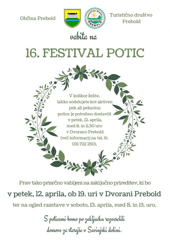 Vabilo Festival potic Prebold 2019 001 724x1024 - OBČINA PREBOLD: 16. Festival potic