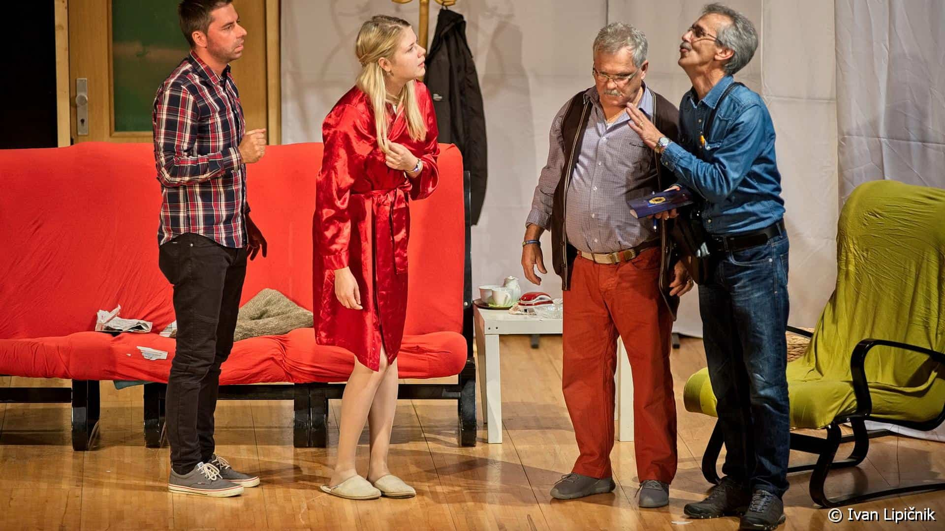 ZbeziOdZene 20 - GALERIJA DOGODKOV: Gledališka predstava - Zbeži od žene, 13. oktober 2019  ( FOTO: Ivan Lipičnik )