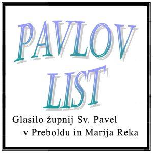 ŽUPNIJA PREBOLD: PAVLOV LIST štev. 35, (Navodila slovenskih škofov v času epidemije COVID-19) 18. oktober 2020